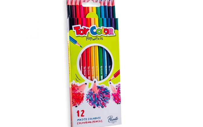 Immagine fotografica 12 matite colorate ToyColor