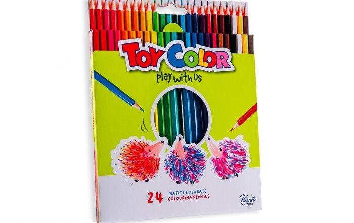 Immagine fotografica 24 matite colorate ToyColor